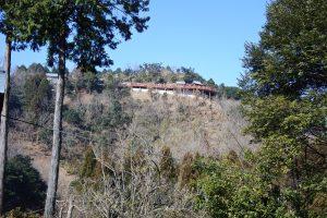 山頂の霞神社